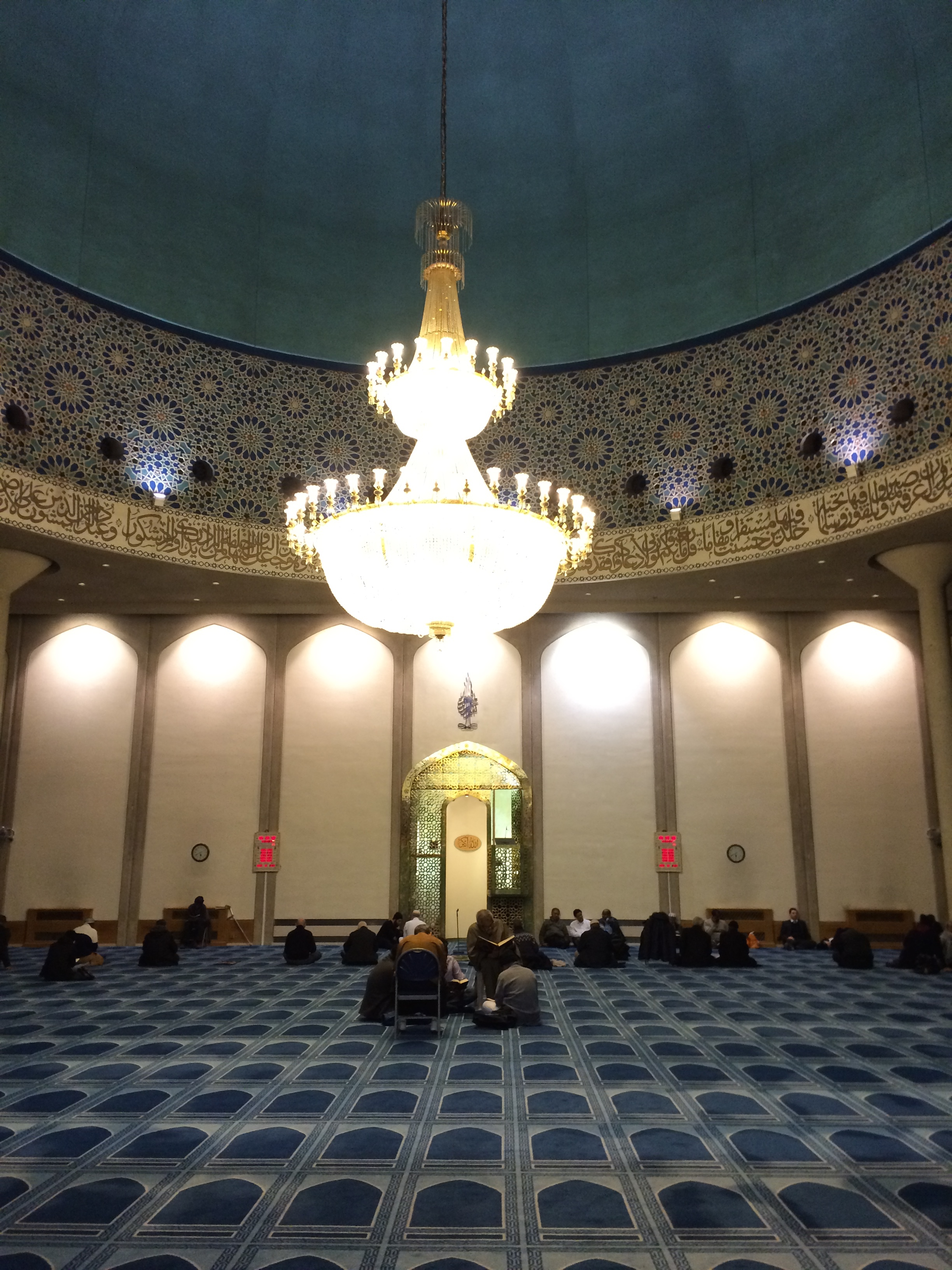 Waiting for Isha prayer earlier this evening – Blogging Theology