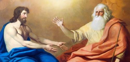 Jesus-and-God-sitting-together