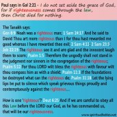 So Paul lied about God then!