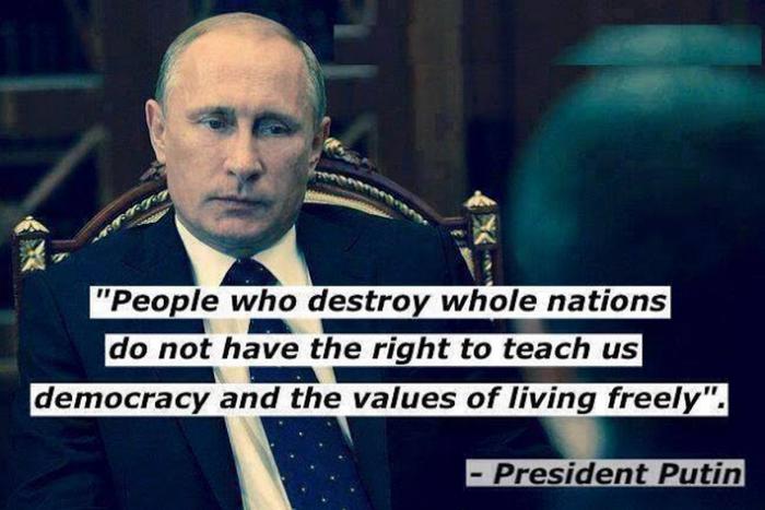 Vladimir Putin Quote