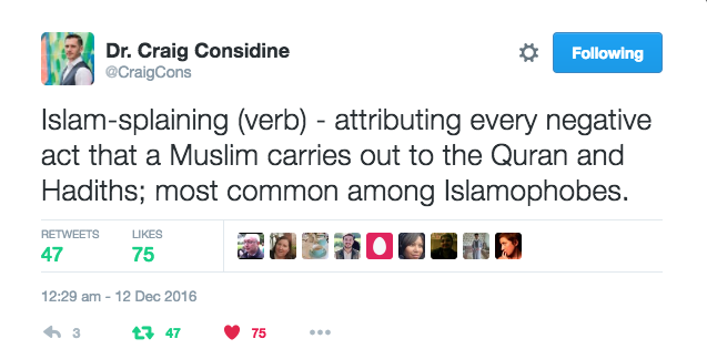 What is Islam-splaining (verb)? – Blogging Theology