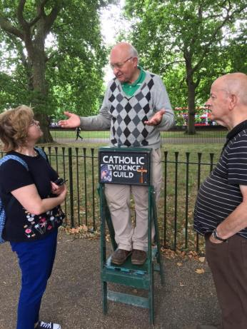 Catholics are the most civilised Christians at Speakers' Corner