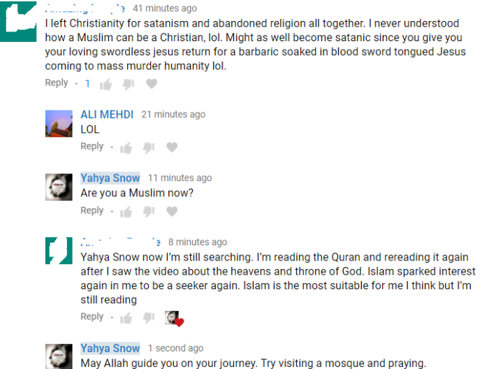 Ex Christian Satanist